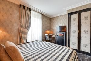 Hotel Villa Lutece Port Royal : Chambre Simple Affaires