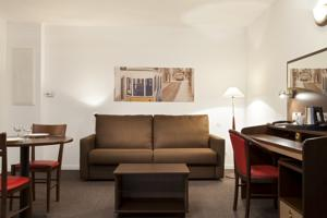 Hotel Comfort Suites Le-Port-Marly Paris Ouest : Appartement 1 Chambre