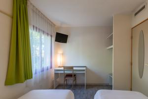 Hotel Aliotel : Chambre Lits Jumeaux