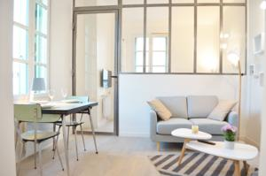 Appartement Le Cheval Blanc : photos des chambres