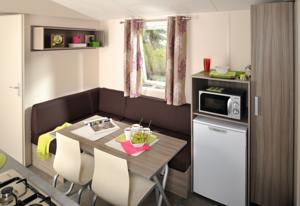Hebergement Camping Le Sainte Marie : Mobile Home Deluxe (5 Adultes)