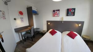 Citotel Hotel Cheval Blanc : Chambre Lits Jumeaux