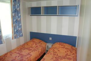 Hebergement Camping Saint James : Mobile Home 2 Chambres (4 Adultes)