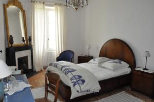 Chambres d'hotes/B&B Domaine David-Beaupere : Chambre Double