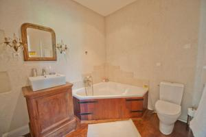 Chambres d'hotes/B&B Chateau Milly : Chambre Double Deluxe avec Baignoire