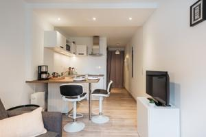 Appartement Le Saint Clair Cite Internationale : photos des chambres
