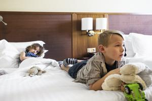 Hotel Courtyard by Marriott Toulouse Airport : Chambre Familiale Classique