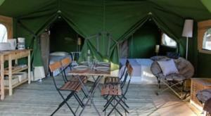 Hebergement Camping les 3 Ours : Tente