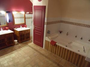 Chambres d'hotes/B&B Domaine Olibaou : Grande Chambre Double