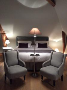 Chambres d'hotes/B&B Chambres d'hotes Le Presbytere : Chambre Double Deluxe