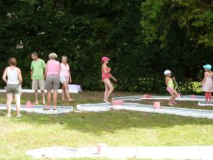 Hebergement Holiday home Camping Des Bains 2 : photos des chambres