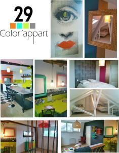 Appartement 29 color'appart : photos des chambres
