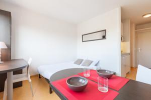 Hebergement City Residence Lyon Marcy : photos des chambres