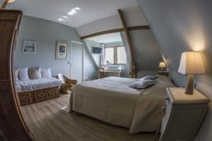 Chambres d'hotes/B&B Manoir du Pre Joly : Chambre Lit King-Size Deluxe