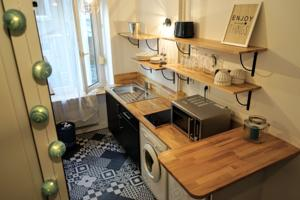 Appartement ClubLord - Adorable Studio Presqu'ile 50m Gare Perrache : photos des chambres