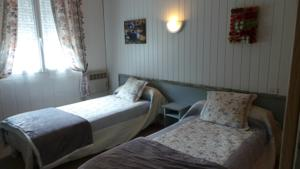 Hotel Coin Campagne : Chambre Lits Jumeaux
