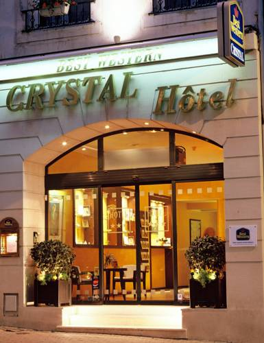 Best Western Crystal Nancy Centre : Hotel proche de Nancy