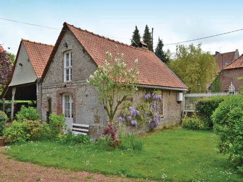One-Bedroom Holiday home Drucat with a Fireplace 06 : Hebergement proche de Beaumetz