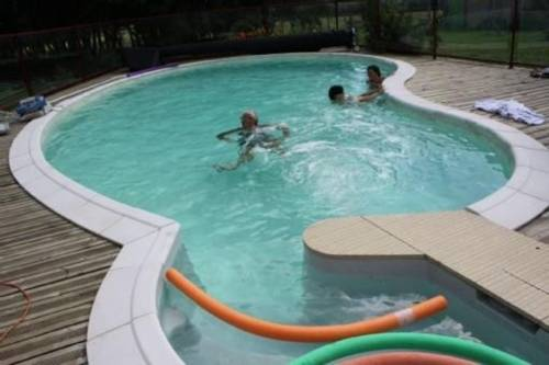 Hebergement holiday home le fano hebergement nivillac 56130 for Piscine nivillac