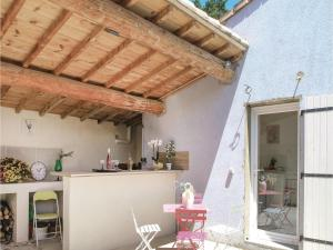 Hebergement One-Bedroom Holiday Home in St. Gervais : photos des chambres