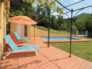 Hebergement Two-Bedroom Holiday Home in Molieres-sur-Ceze : photos des chambres