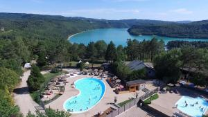 Hebergement Camping Trelachaume : photos des chambres