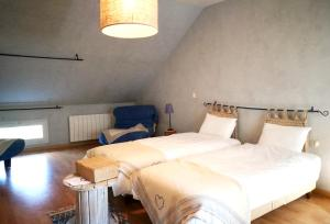 Hebergement Holiday home Ferme de Saint-Nicolas : photos des chambres