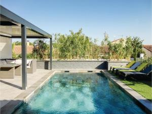 Hebergement Four-Bedroom Holiday Home in Roujan : photos des chambres