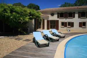 Hebergement Montouliers Villa Sleeps 12 Pool WiFi : photos des chambres