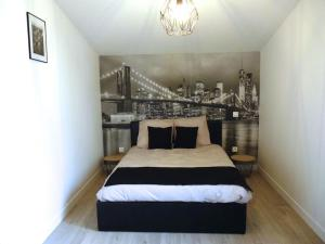 Appartement Charmante maisonnette New York : photos des chambres