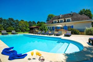 Hebergement Fources Villa Sleeps 12 Pool WiFi : photos des chambres