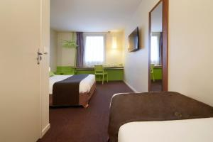 Hotel Campanile Roissy - Aeroport CDG - Le Mesnil Amelot : photos des chambres