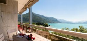 Appartement d'Exception - Annecy face au Lac : photos des chambres