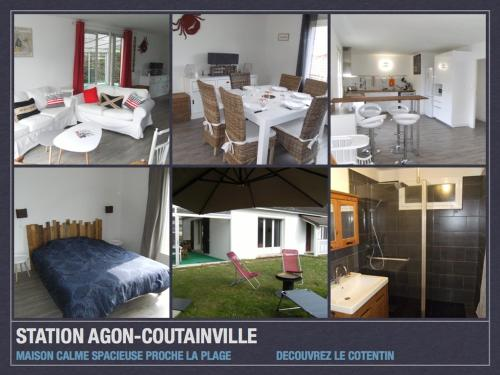Agon Coutainville : Hebergement proche d'Orval