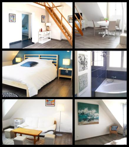 Appartement Cosy Chic 3 Chambres : Appartement proche de Saint-Jacques-d'Aliermont