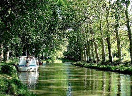 Photo Canal du midi. Havre de paix.
