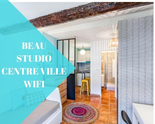 Smile-appartment : Appartement proche de Le Revest-les-Eaux