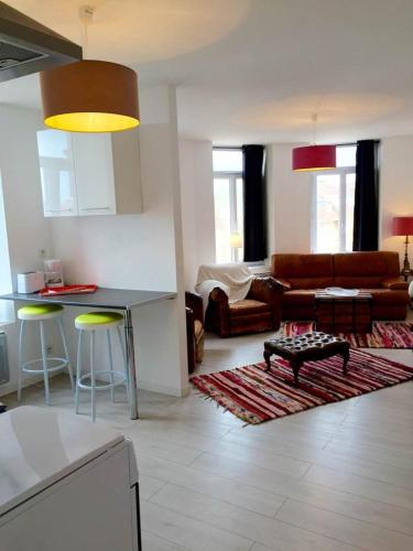 Appartement A La Mer : Appartement proche de Saint-Étienne-au-Mont