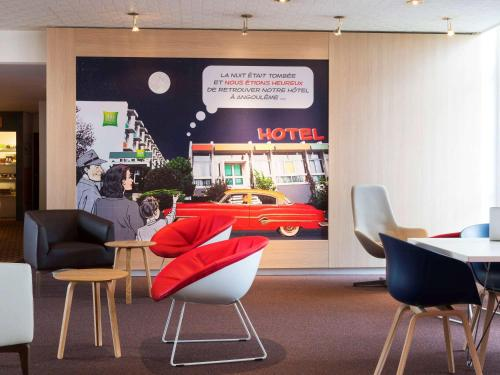ibis Styles Angoulême Nord : Hotel proche de Vouharte