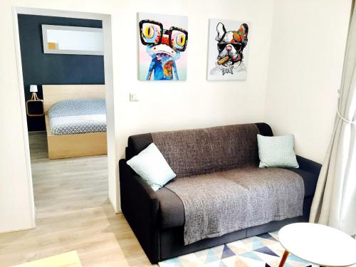 Appartement centre, Parking 100m : Appartement proche de Nantes