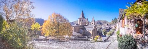 Le Compostelle de Conques : Appartement proche de Grand-Vabre