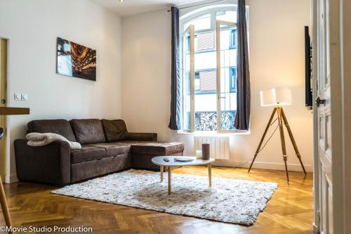 Charming Haussmannien 50m2 - city center : Appartement proche de Rouen