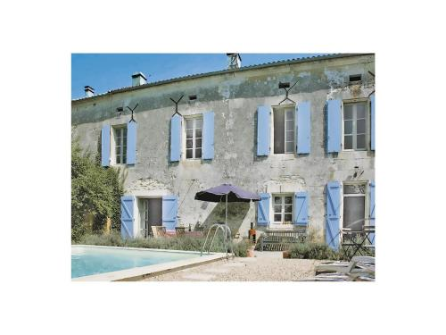 Holiday home Lacaud K-597 : Hebergement proche de Saint-Germain-de-Montbron