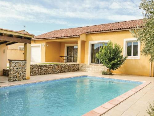 Five-Bedroom Holiday Home in Saint Nazaire d'Aude : Hebergement proche de Sallèles-d'Aude
