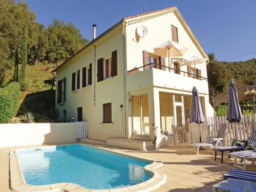 Holiday home La Favede L-796 : Hebergement proche de Saint-Martin-de-Valgalgues