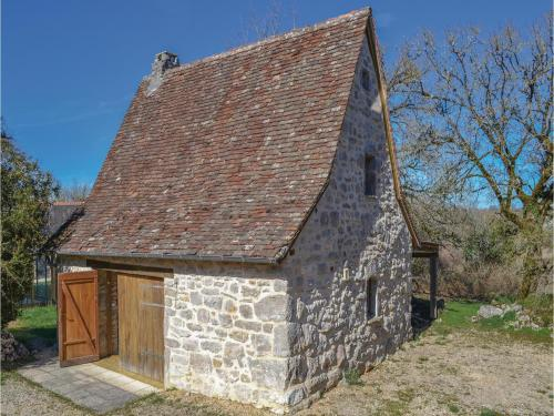 One-Bedroom Holiday Home in Padirac : Hebergement proche de Mayrinhac-Lentour