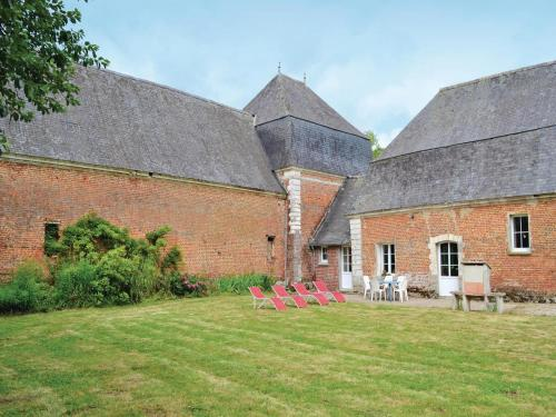 Holiday Home Gouy Saint Andre with a Fireplace 05 : Hebergement proche de Béalencourt