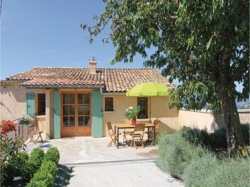 Two-Bedroom Holiday Home in Sigoyer : Hebergement proche de La Motte-du-Caire