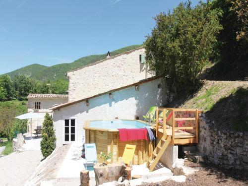 Holiday Home Montjoux with Fireplace I : Hebergement proche de La Motte-Chalancon