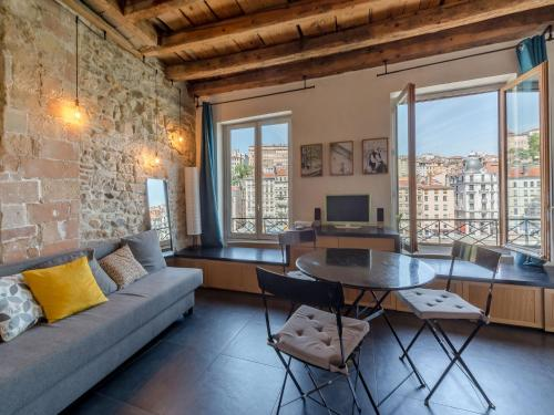 Be My Home - L'Atypique : Appartement proche du 4e Arrondissement de Lyon